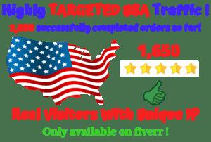 USA web traffic