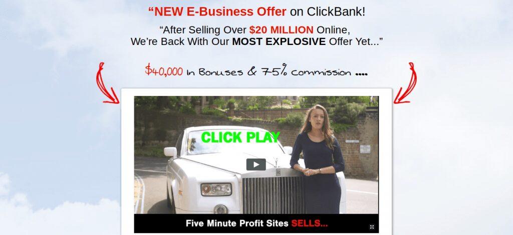 what is fiveminuteprofitsites.net