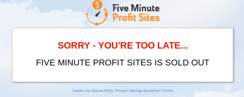 What Is FiveMinuteProfitSites.net