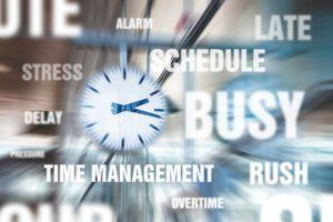 how to manage your busy schedule