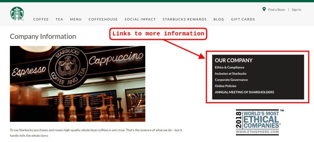 About Starbucks