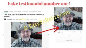 10KWealthCode uses fake testimonials