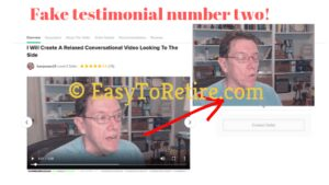 10KWealthCode also uses fake testimonial