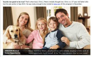 The Amazon Cash Websites Review - Chris Peters and his family