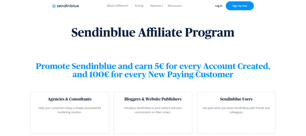 How to build your email marketing list with Sendinblue rewards