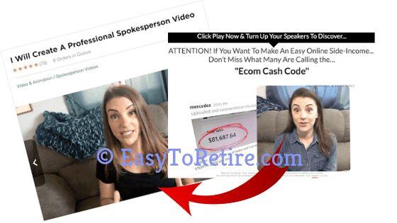 Ecom Cash Code paid for testimonials
