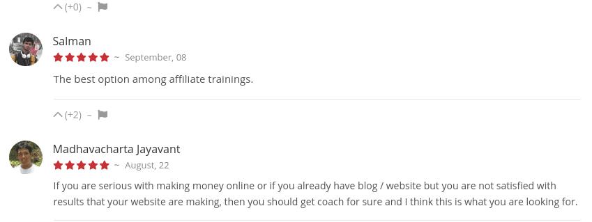 Affiliate Blogger Pro members reviews