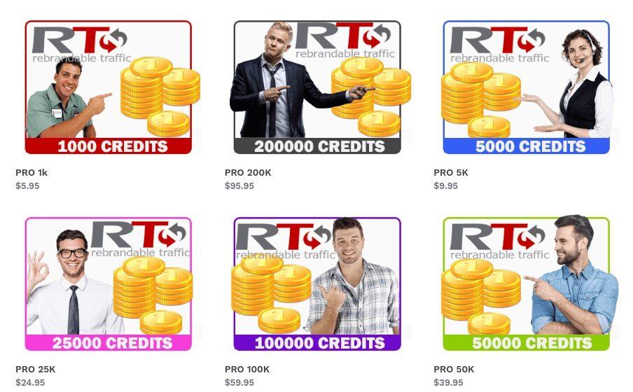 RT rebrandable traffic cost