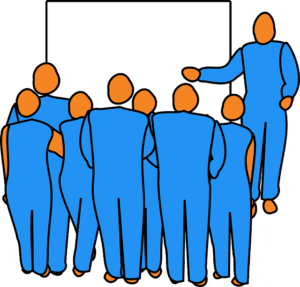 Developing an audience
