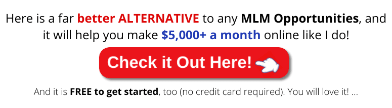 better alternative to any MLM opportunities