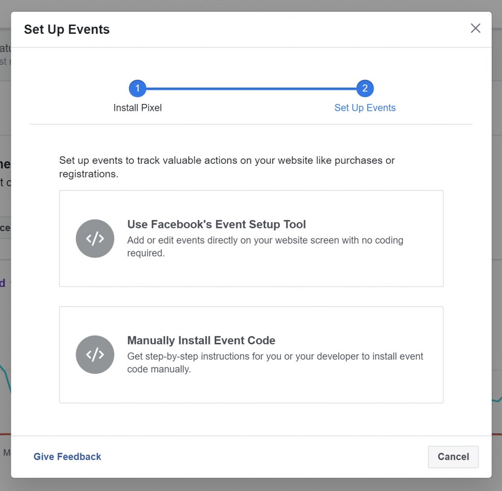 how to get leads from facebook ads by setting up events