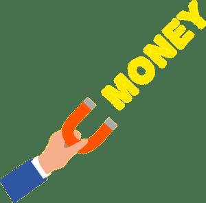 Affiliate Marketing it's like a money magnet!