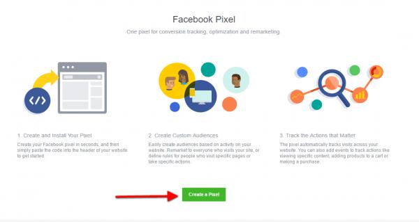 Facebook Pixel: Track Website Activities