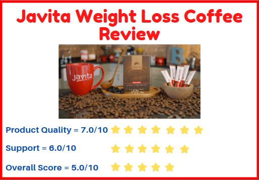 Javita weight loss coffee score